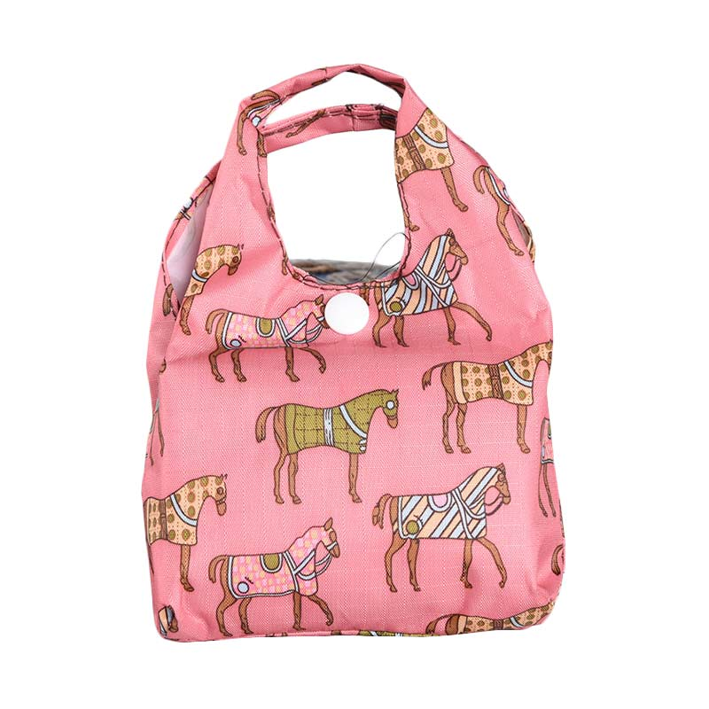 Silver Tote Lucy Hor...gan - Pink
