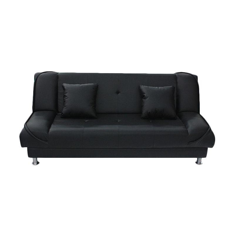 Anugrah Gucci Hitam Sofa Bed Khusus Jabodetabek