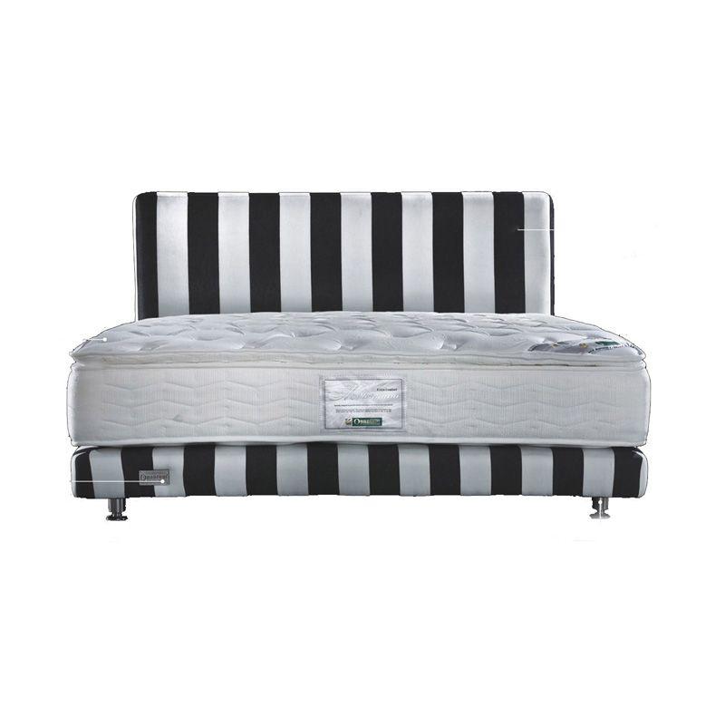 Quantum Millenium Edition Black White Spring Bed [160 x 200]