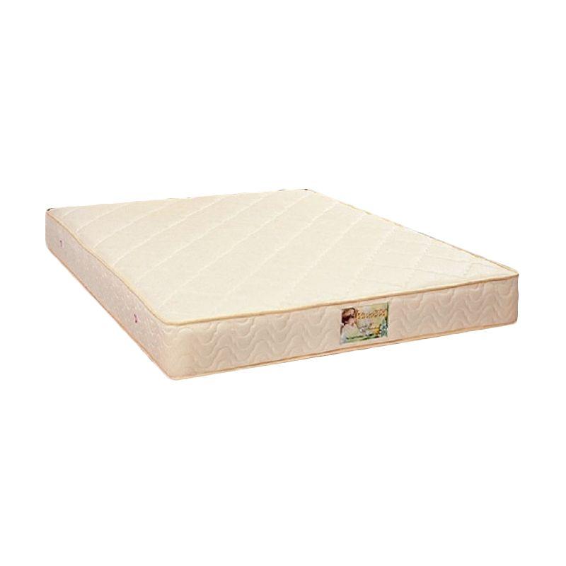 Uniland Standard Cream Spring Bed Khusus Jabodetabek [160 x 200 cm]