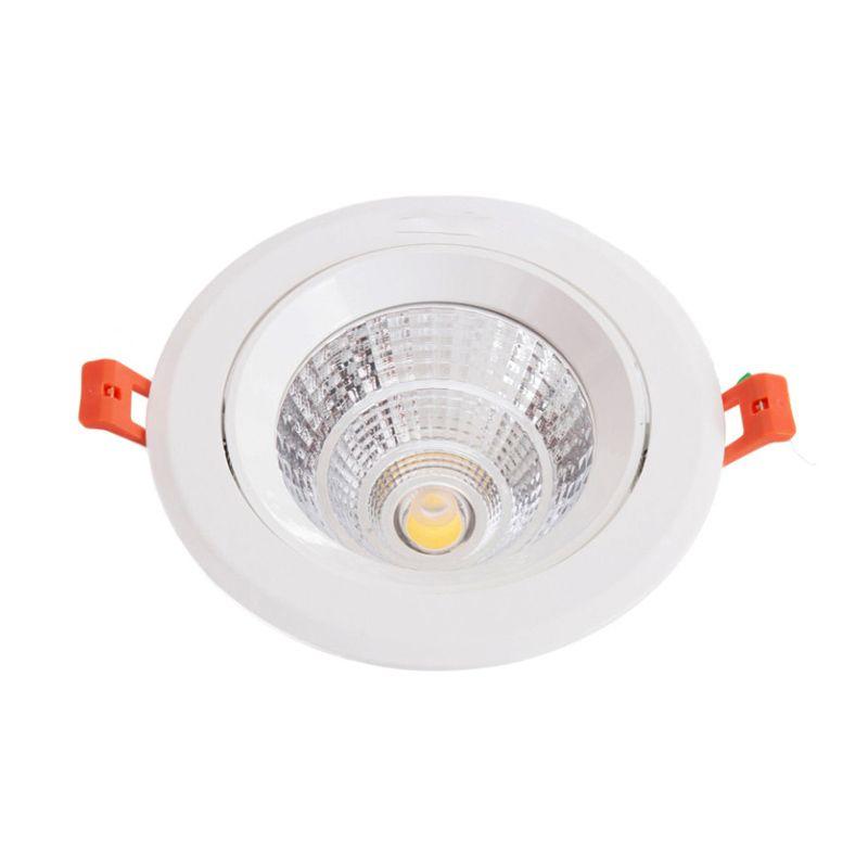 Hiled Ceiling COB Warm White Lampu Downlight [12 Watt]