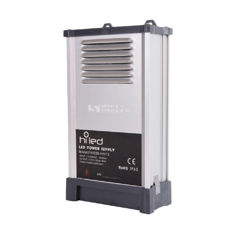 Hiled Rain Proof DC 12V Power Supply [20.8 A]