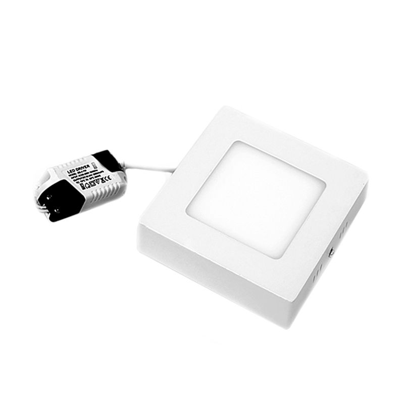Hiled Square Panel Outbow White Lampu [12 W]