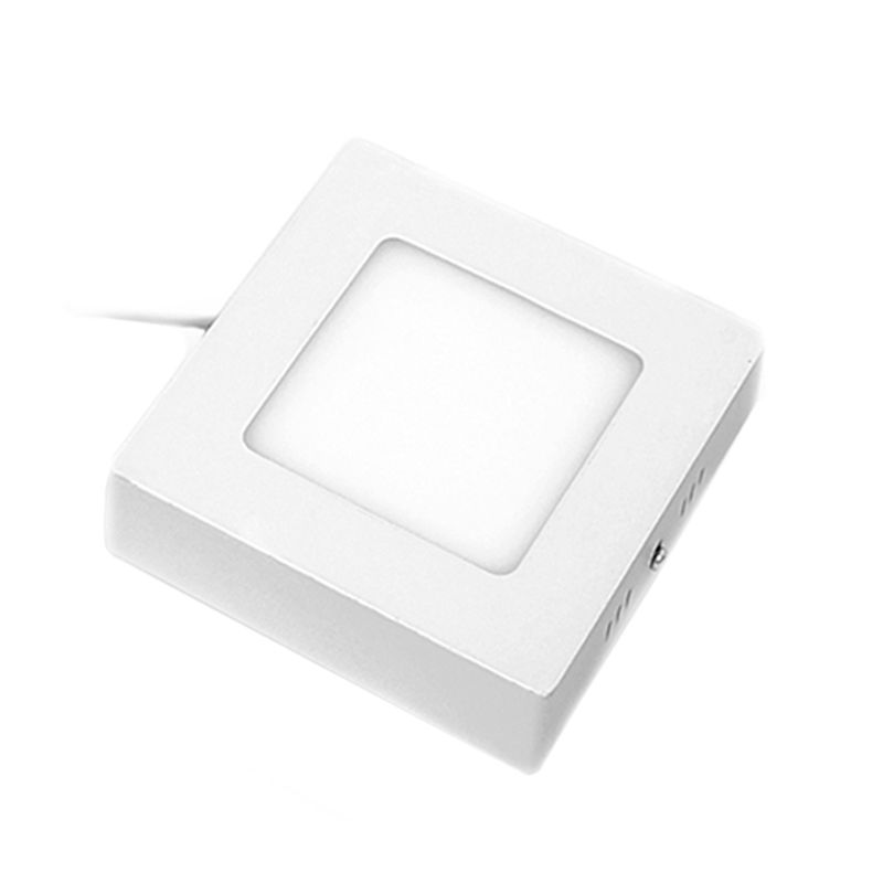 Hiled Square Panel Outbow White Lampu [6 W]