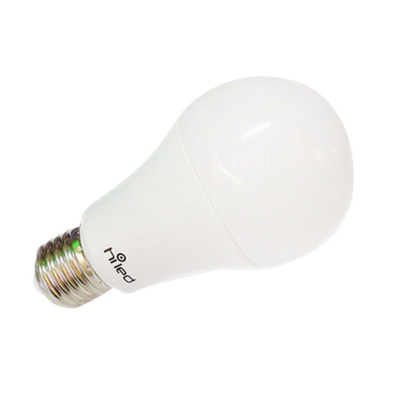 Hiled Warm White Lampu Bohlam [8 Watt]