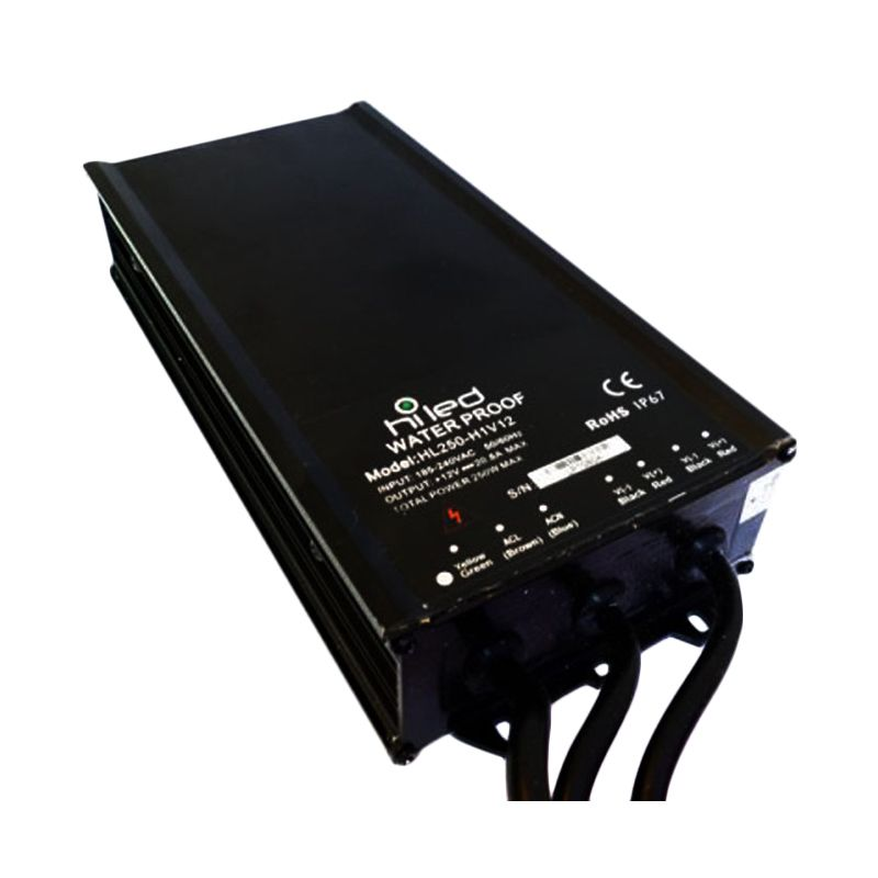 Hiled Water Proof DC12V Power Supply [20.8A]
