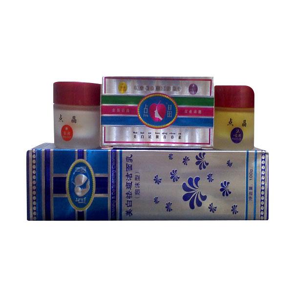 Simply Paket Cream Pemutih Muka Herbal Tensung
