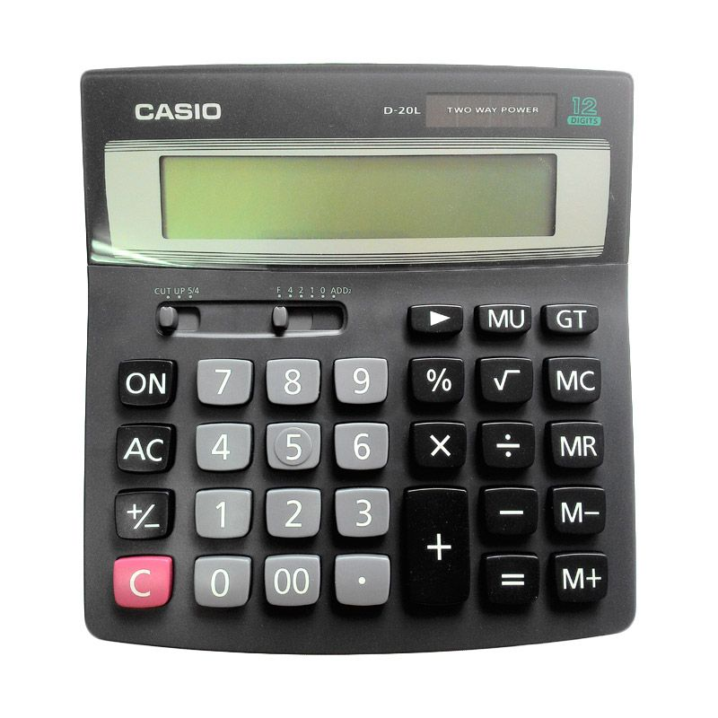 Casio D 20-L-W-DH Calculator