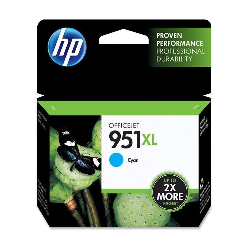 HP Officejet 951XL Cyan Tinta Printer