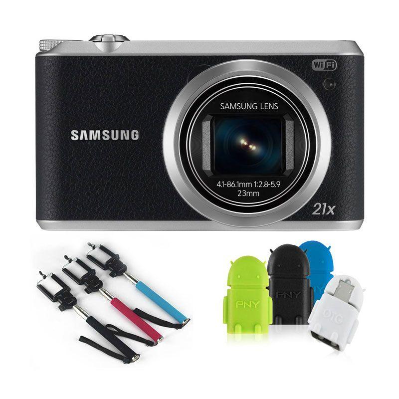 Samsung Camera WB-350F Black - Bonus