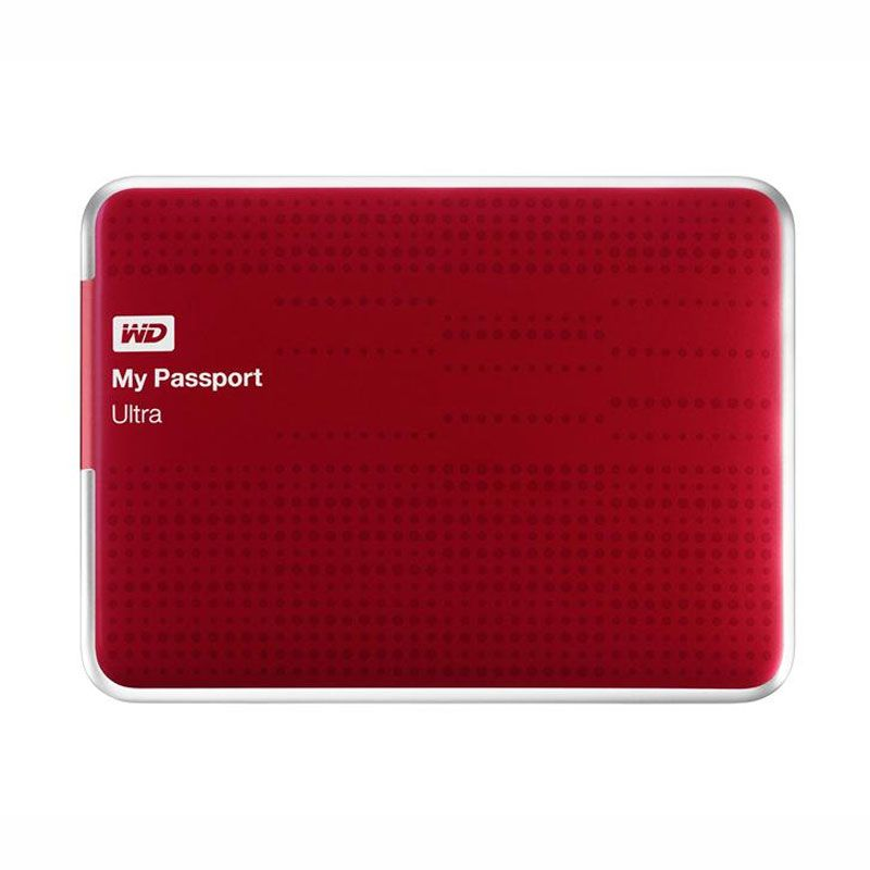 WD External Hardisk My Passport Ultra 1TB Red