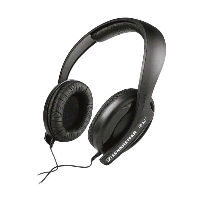 Sennheiser HD 202 II Hitam Headphone
