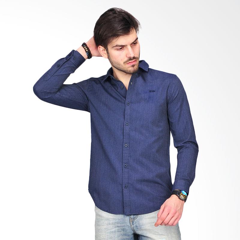 Simpaply's Gabriel Men's Shirt - Navy