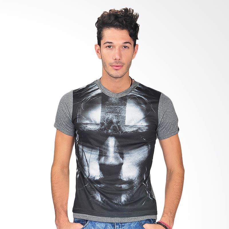 SIMPAPLY's New Stuckle Face Men's Kaos Pria