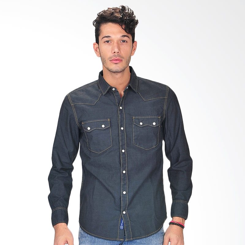 Simplapy's Newless Retro Men's Shirt - Black