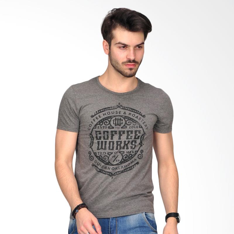 Simpaply's Roastery Men's T-Shirt - Grey Extra diskon 7% setiap hari Extra diskon 5% setiap hari Citibank – lebih hemat 10%