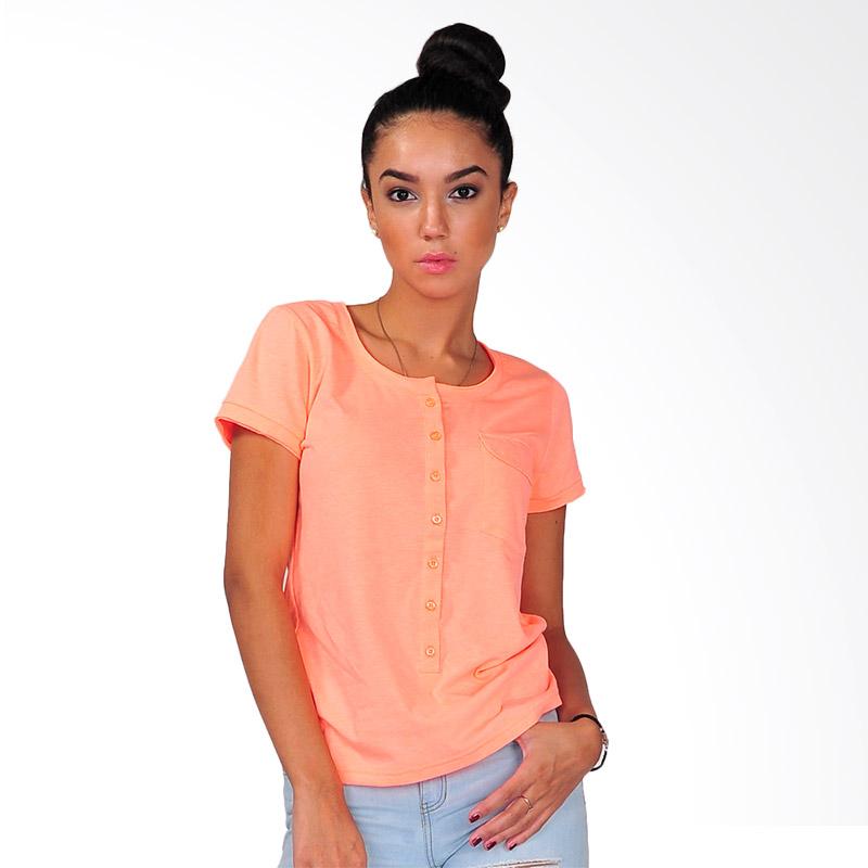SJO & SIMPAPLY Fashioner Women Blouse - Orange