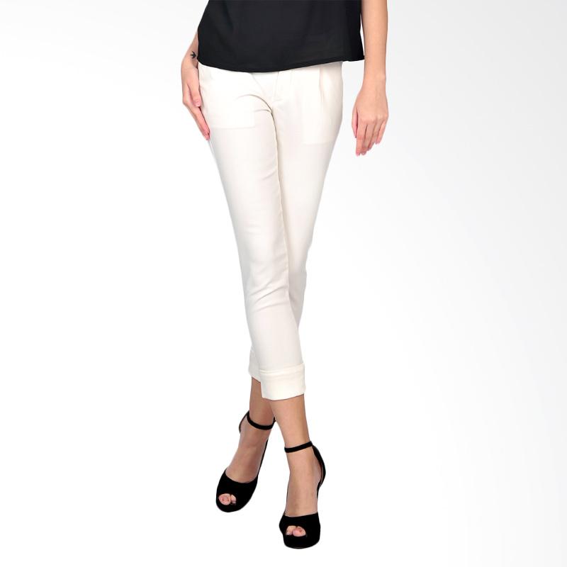 SJO's Granital White Women's Legging Pants