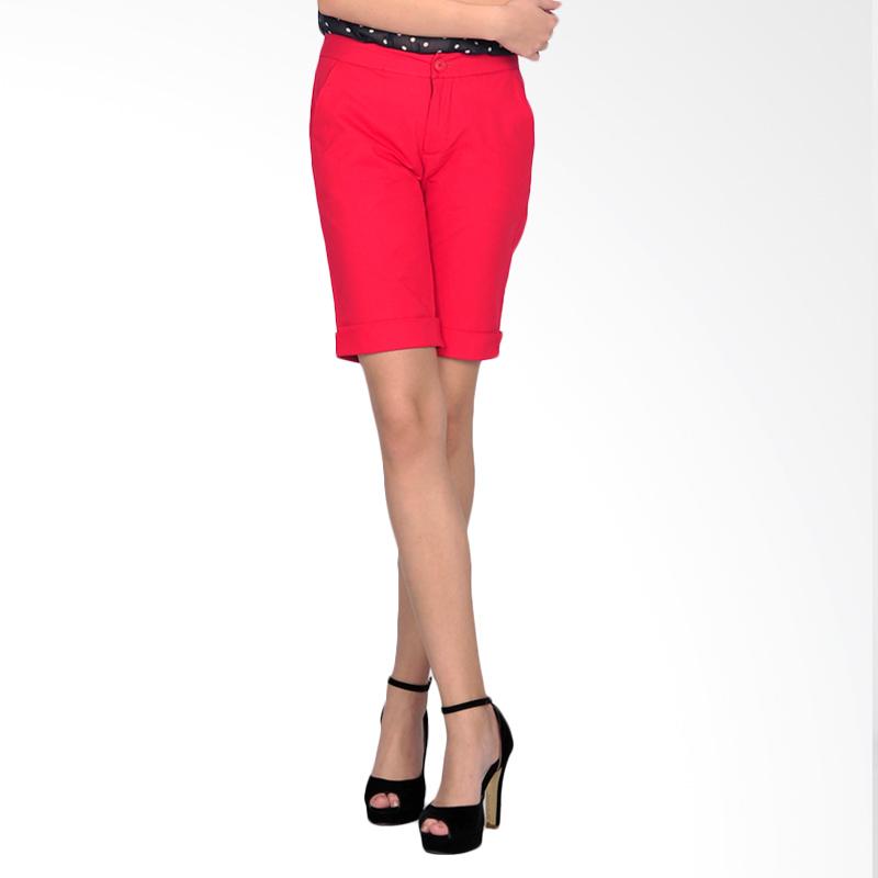 SJO's Sabrina Red Women's Short Pants