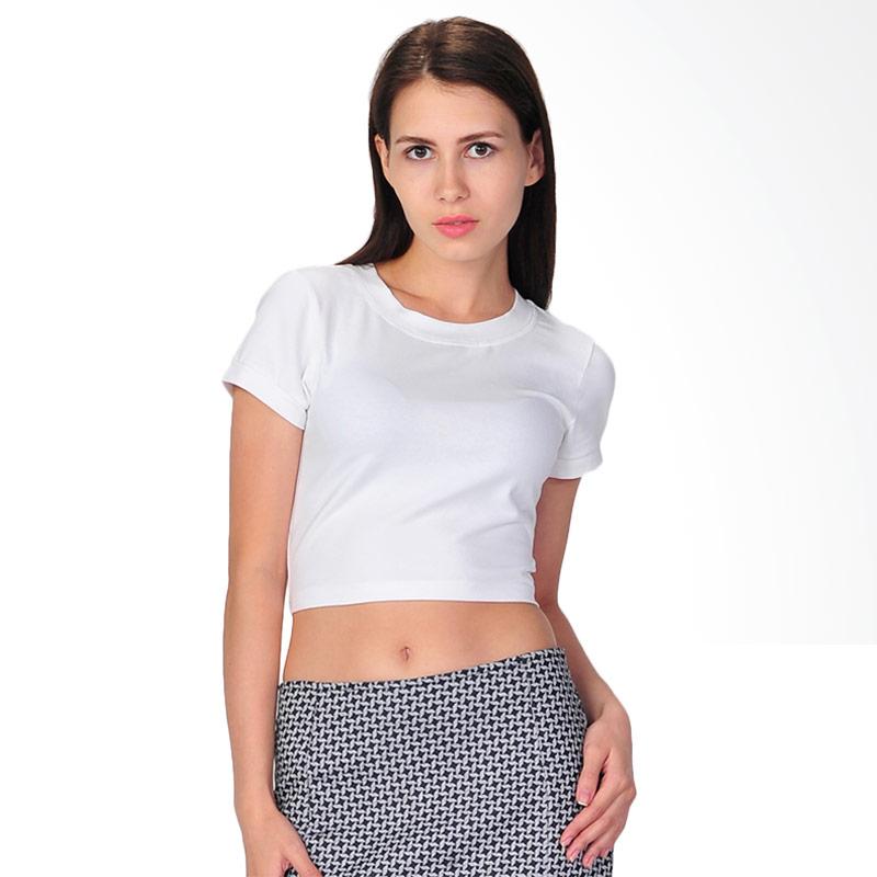 SJO's Sleeve-Shape White Women's T-Shirt