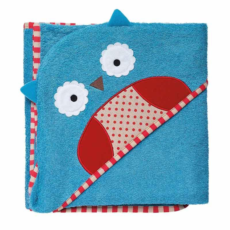 Skip Hop Zoo Hooded Towel Owl - Handuk