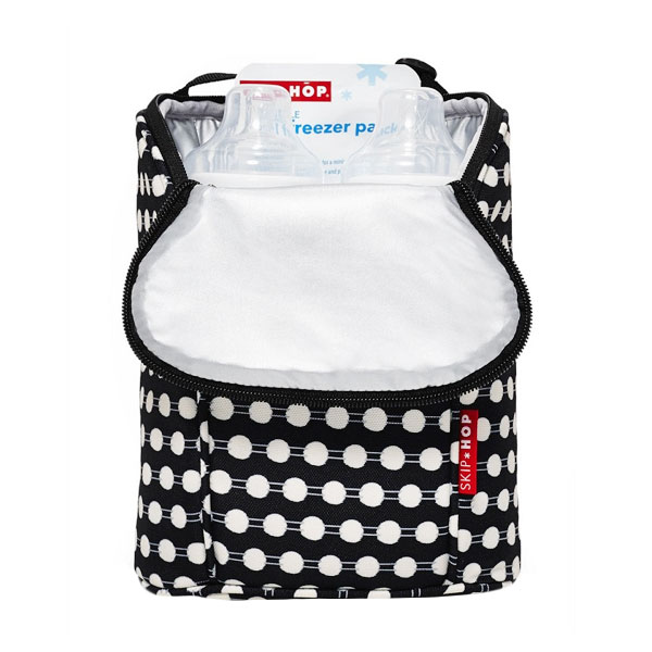 Skiphop Double Bottle Bag Connect Dots