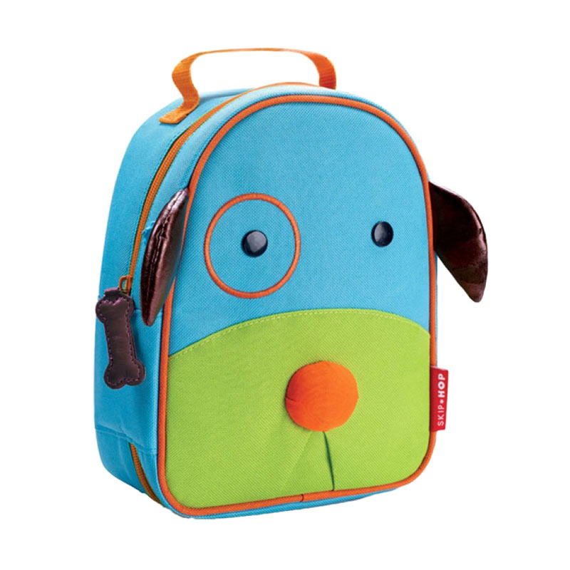 Skiphop Zoo Lunchies Dog Tas Anak