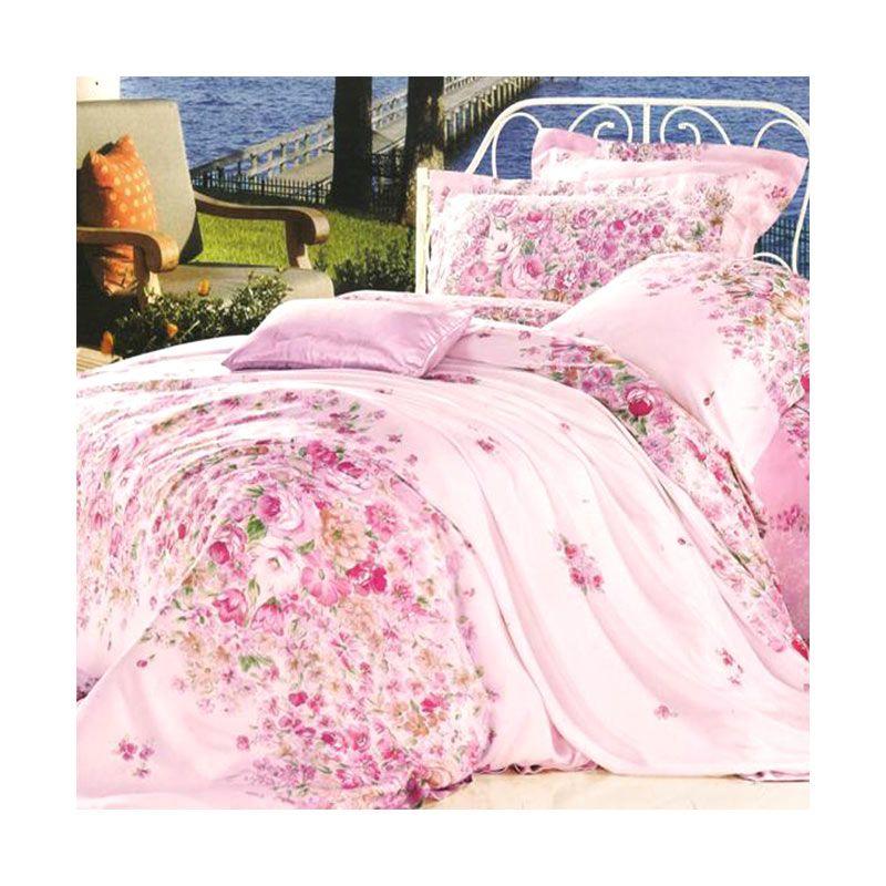 Sleep Buddy Blanket Organic Cotton Blushes Rose Selimut