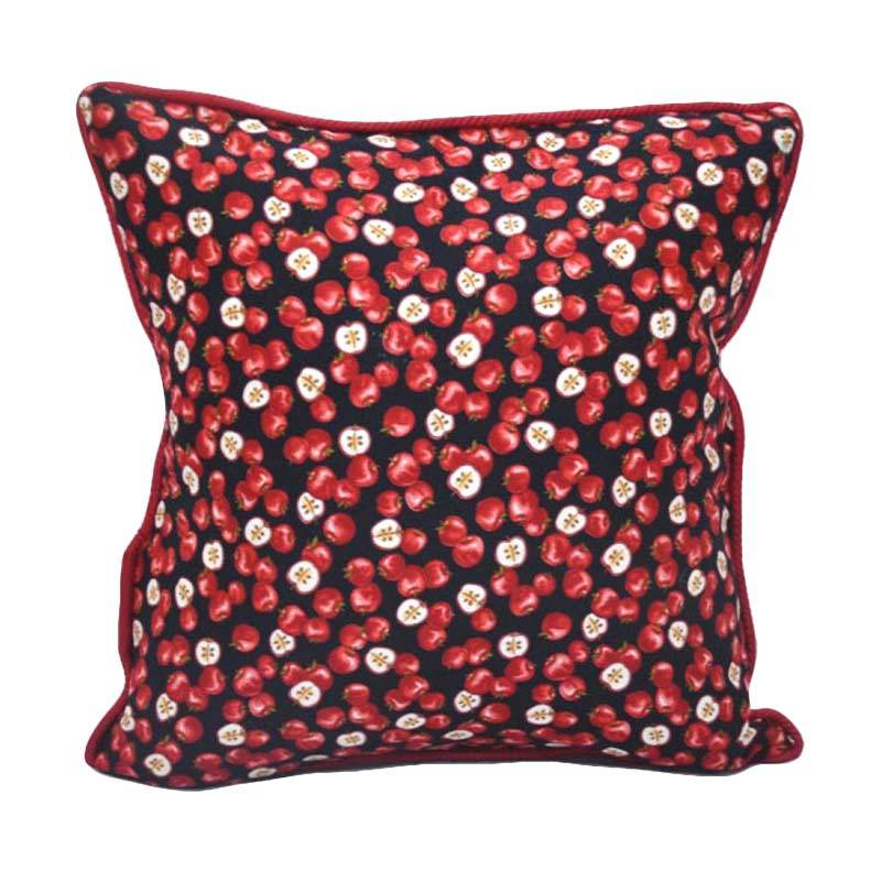 Sleep Buddy Cushion Apple Blushes Maroon + Isi
