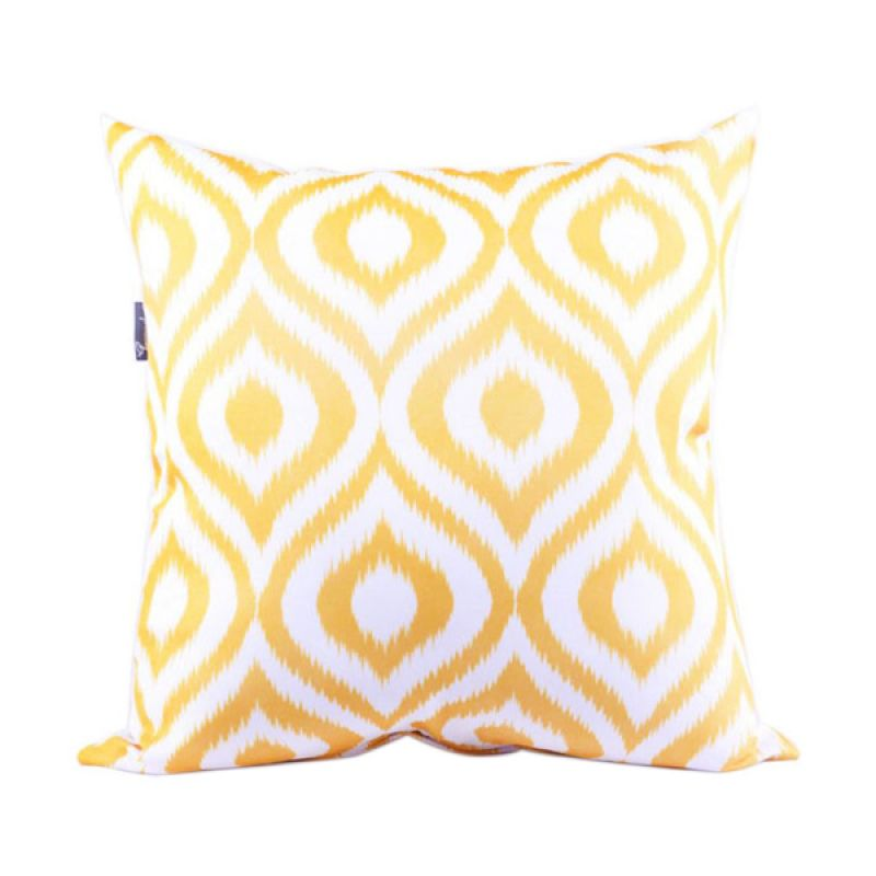 Sleep Buddy Cushion Ikat Yellow + Isi