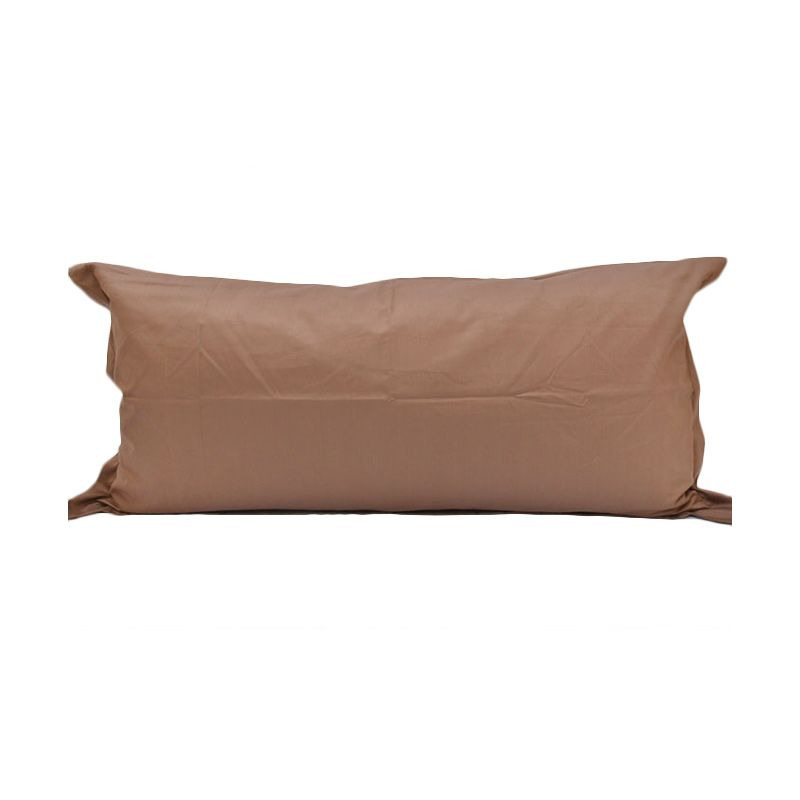 Sleep Buddy Sarung Bantal 50 x 100 cm Coffee