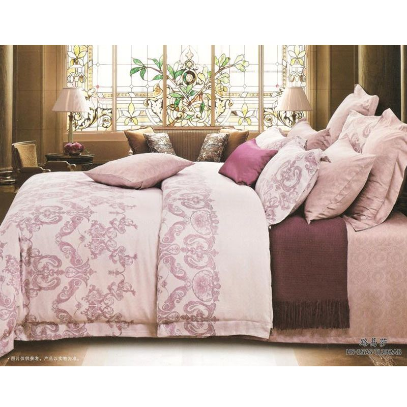 Sleep Buddy Sutra Tencel Baroque Bed Cover dan Bed Sheet Set