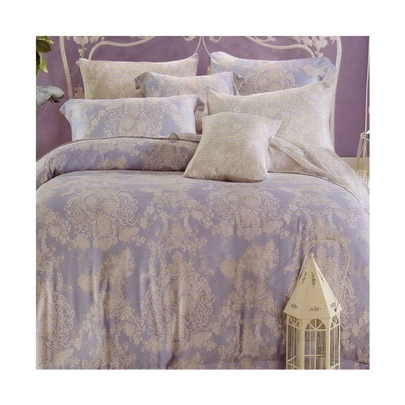 Sleep Buddy Sutra Tencel Blue Set Sprei and Bed Cover