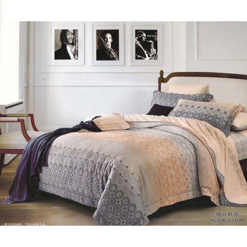 Sleep Buddy Sutra Tencel Furrish Bed Cover dan Bed Sheet Set