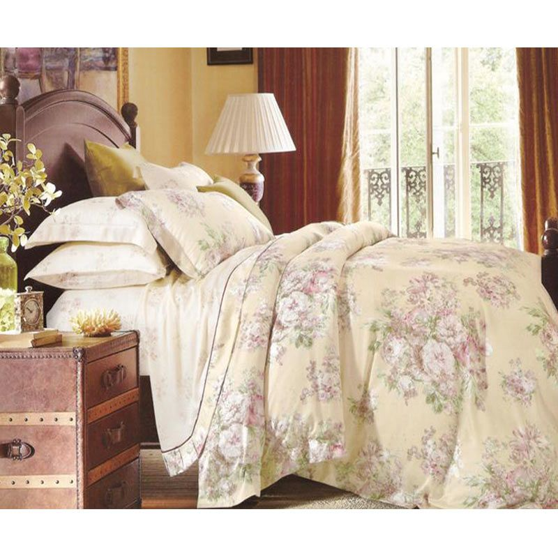 Sleep Buddy Sutra Tencel Rose Beige Sprei