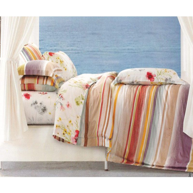 Sleep Buddy Sutra Tencel Summer Multicolor Sprei