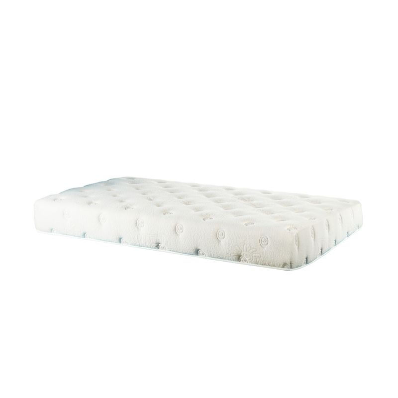 Therapedic Therakids Turquoise White Spring Bed