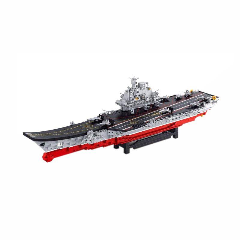 Sluban Aircraft Carrier - Mainan Rakit