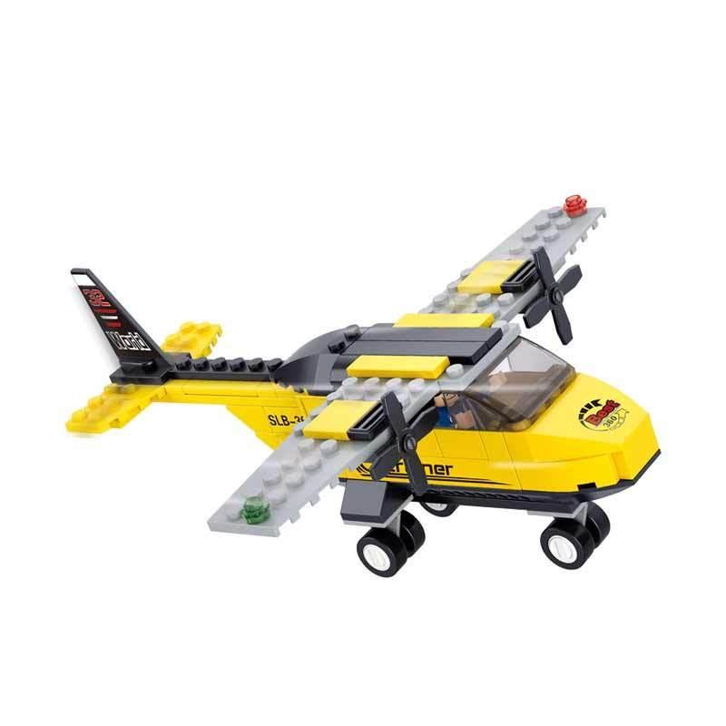 Mainan Rakitan Anak Sluban Aviation-T Trainer