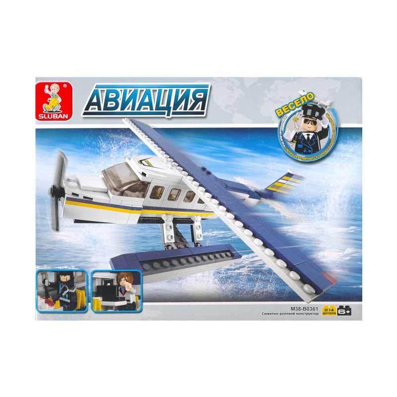 Mainan Rakitan Anak Sluban Aviation-Z Seaplane
