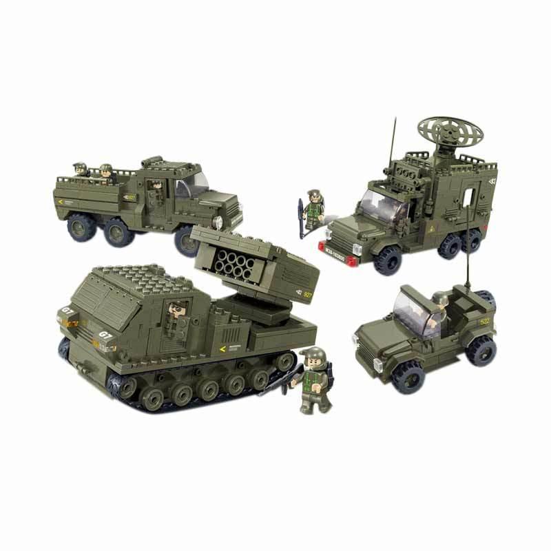 Sluban Land Forces II Vanguard - Mainan Rakit