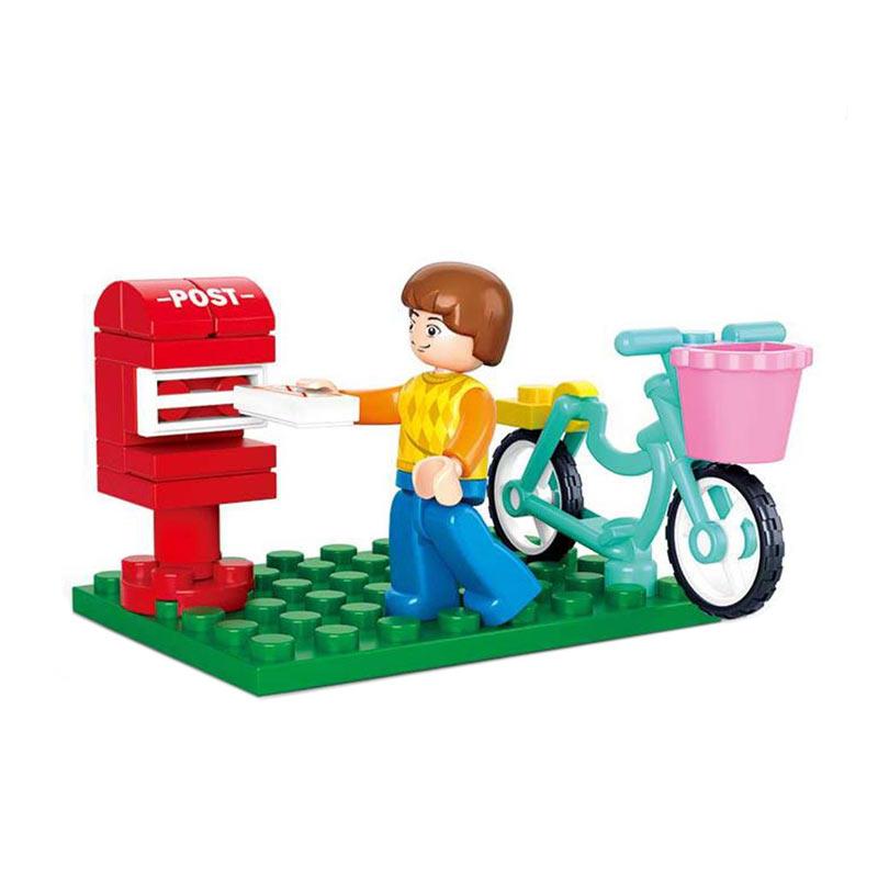 Sluban M38 B0516 Postman Mainan Blok & Puzzle