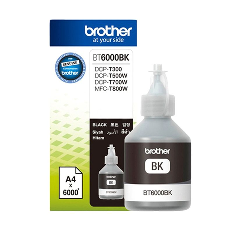 Brother BT6000BK Hitam Tinta Printer