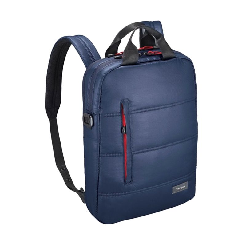 Targus Crave Convertible 3 in 1 Midnight Blue Backpack Tas Ransel [13 Inch] + Targus Notebook Car Charger APD10AP Worth