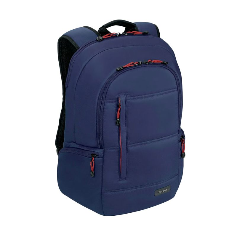 Targus Crave Midnight Blue Backpack for MacBook [15 Inch] + Targus Notebook Car Charger APD10AP Worth