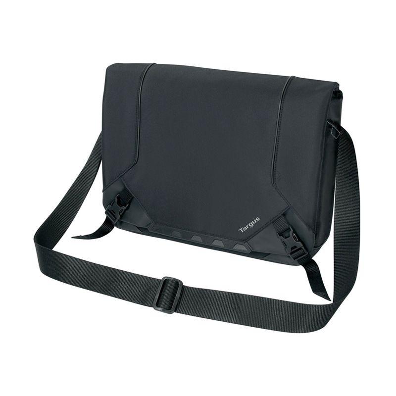 Targus Drifter TSM6750AP Hitam Mini Messenger Tas Laptop for MacBook or Ultrabook [13 Inch]