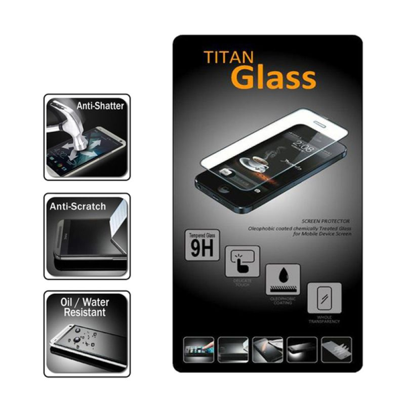 Titan Glass Premium Tempered Glass Screen Protector for Sony Xperia M2 550 H