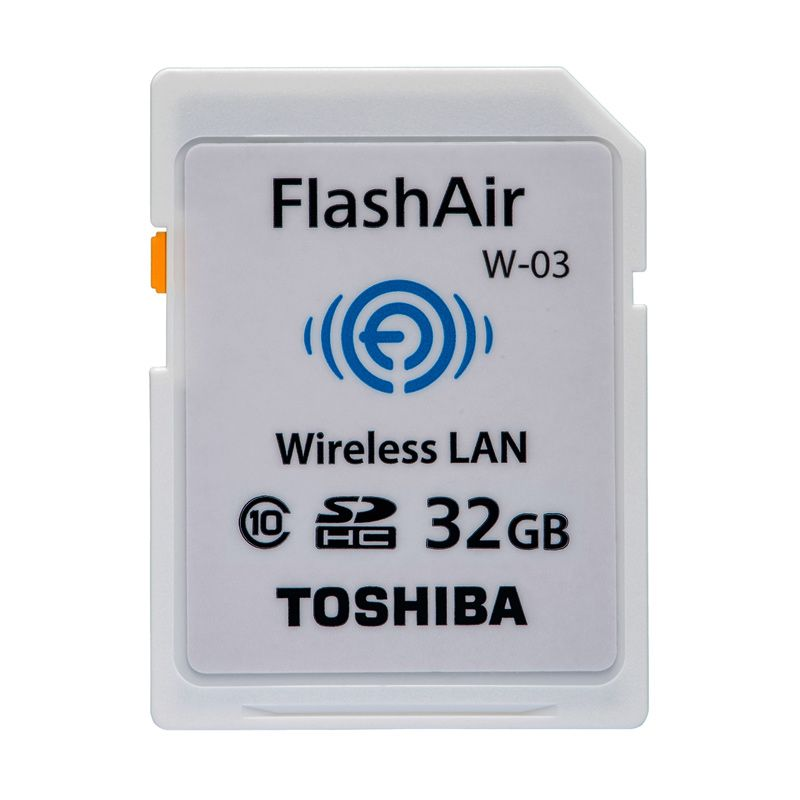 Toshiba Flash Air Memory Card Kamera [32 GB/Class 10]