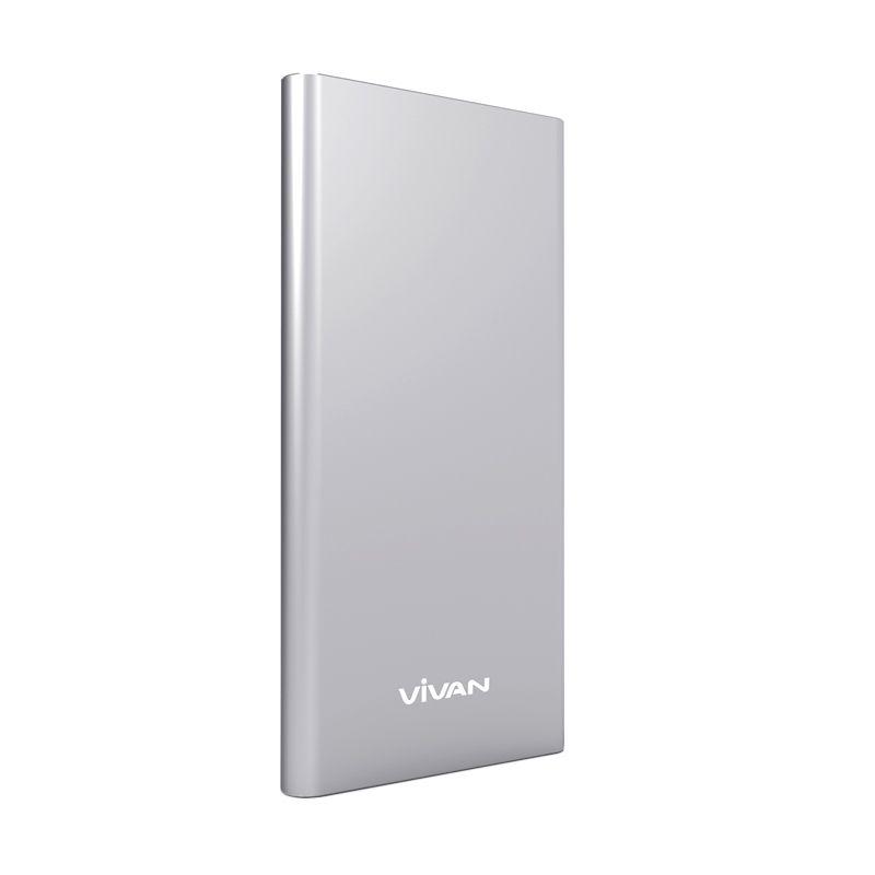 Vivan U5 Silver Powerbank [5000 mAh]