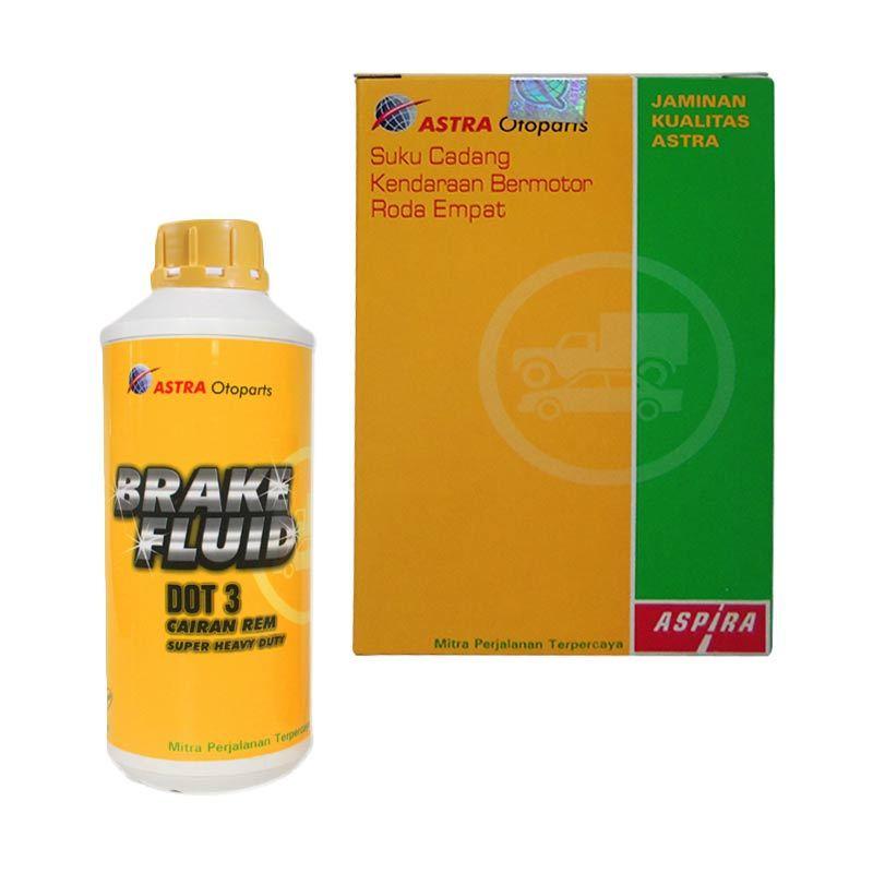 Aspira 4W 12-DOT-3-1000 Dot 3 Bening Brake Fluid Minyak Rem [1000 mL]